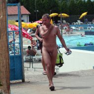 Naturist Pool Resort Exits