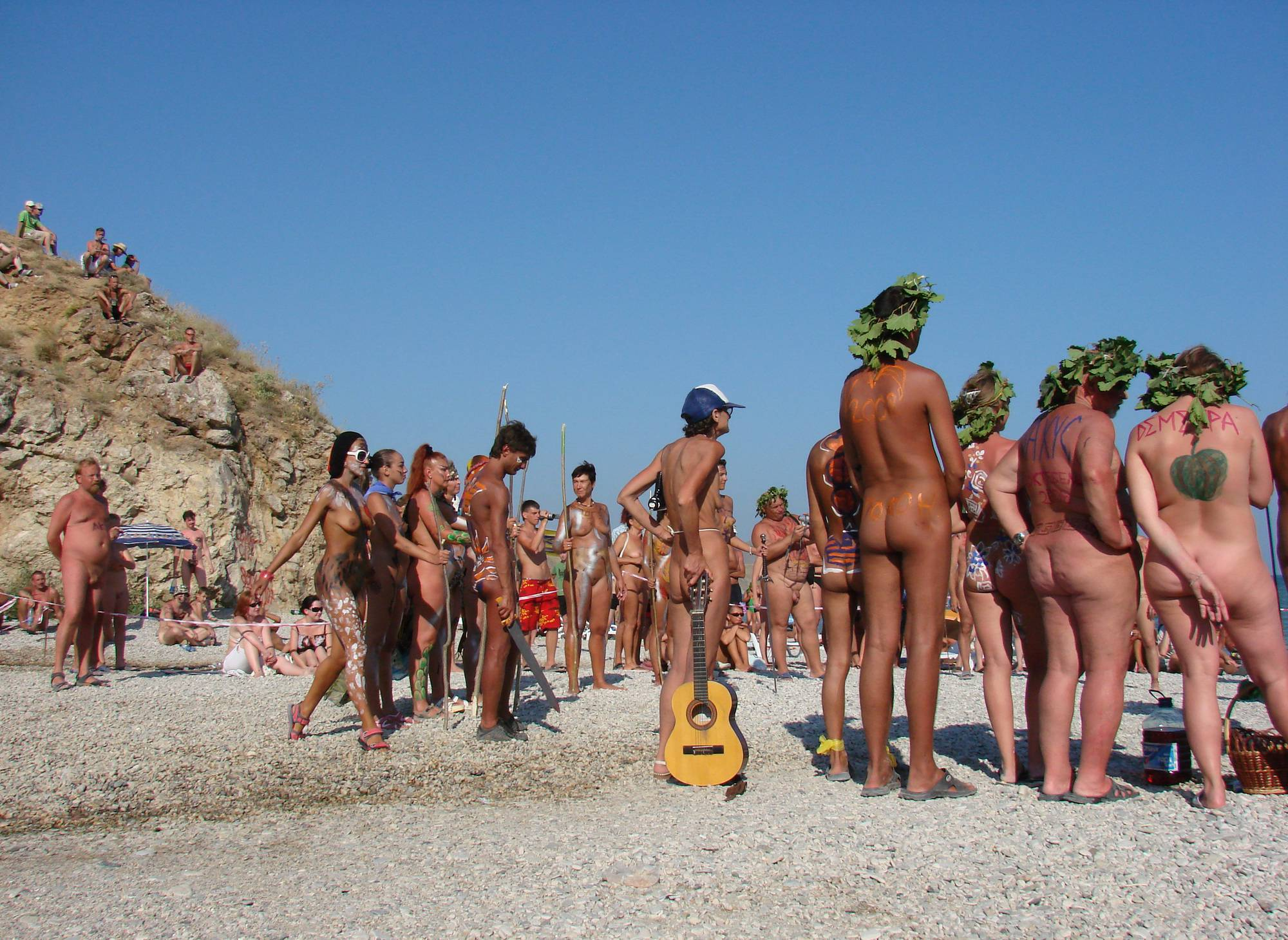 Nudist Pictures Neptune Day Sunny Group - 1