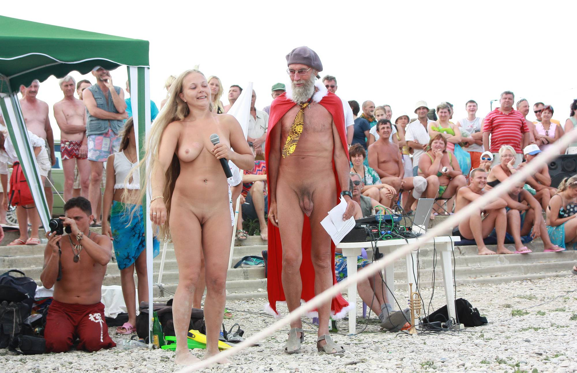 Nudist Pics Neptune Green Dance - 1