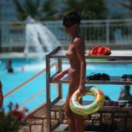 Nude By-Pool Passageway