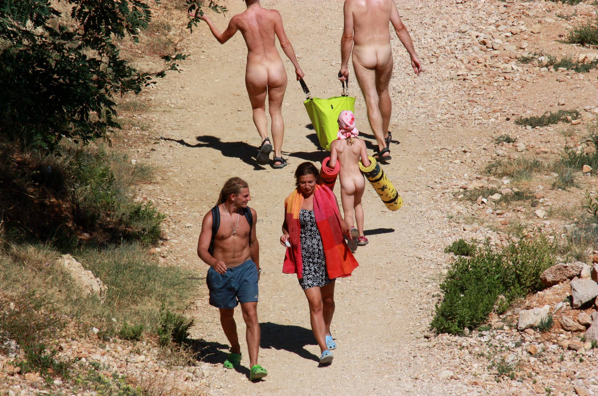 Nudist Family Deportation - 2