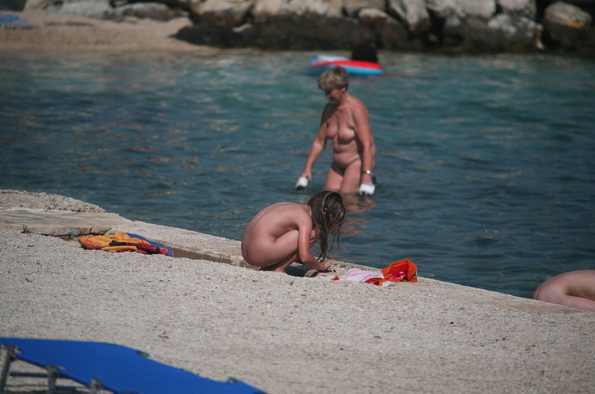 Nudist Duel Skinny Dipping - 1