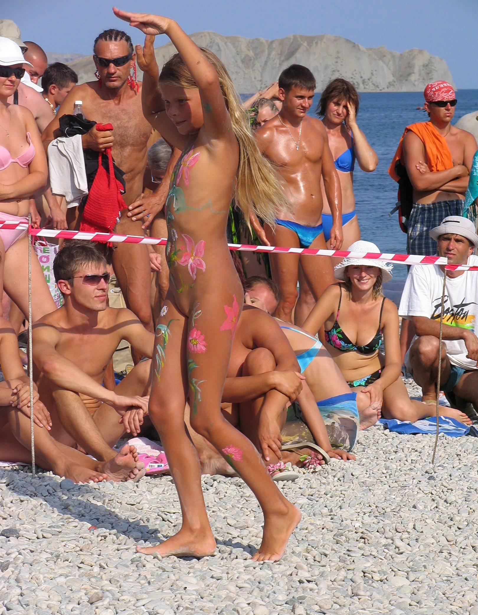 Nudist Pants Off Dance Off - 2