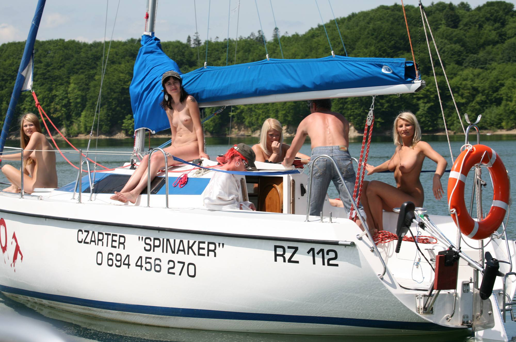 Nudist Pictures Seaworthy Piwot Yacht - 1
