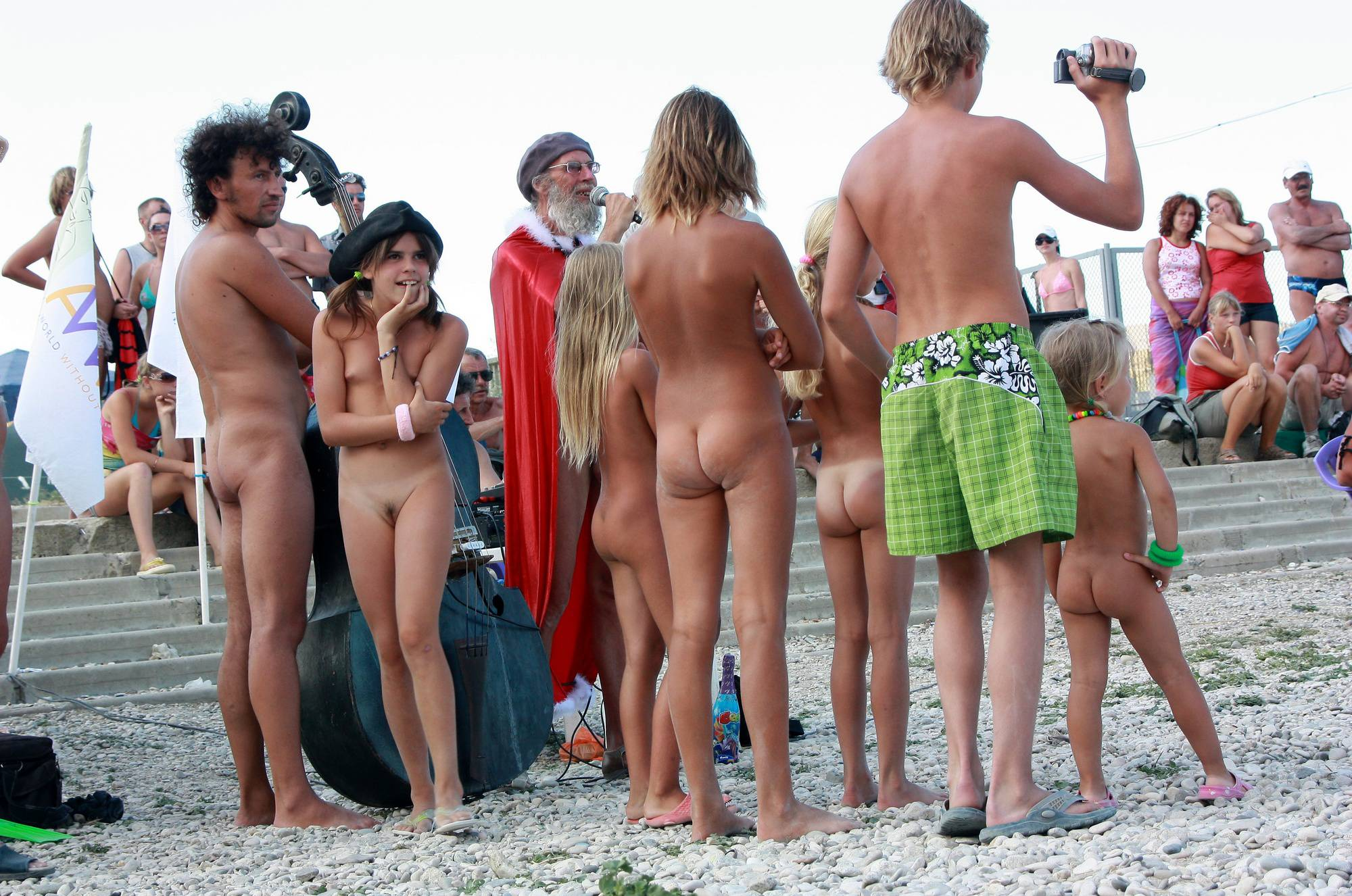 Nudist Photos Group Awarding Moments - 1