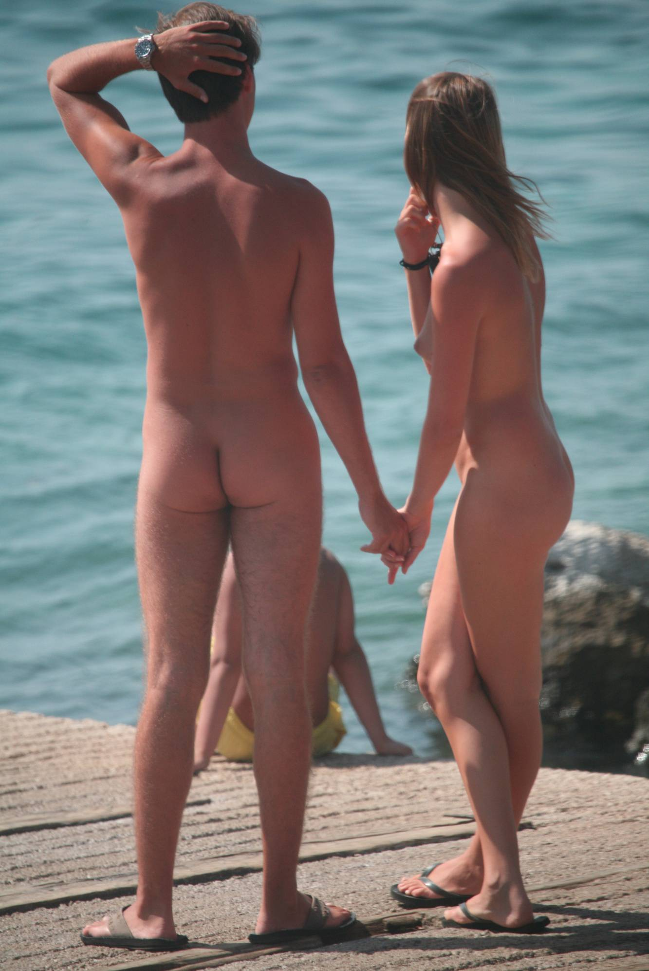 Nudist Pictures Nora FKK In Love Couples - 2