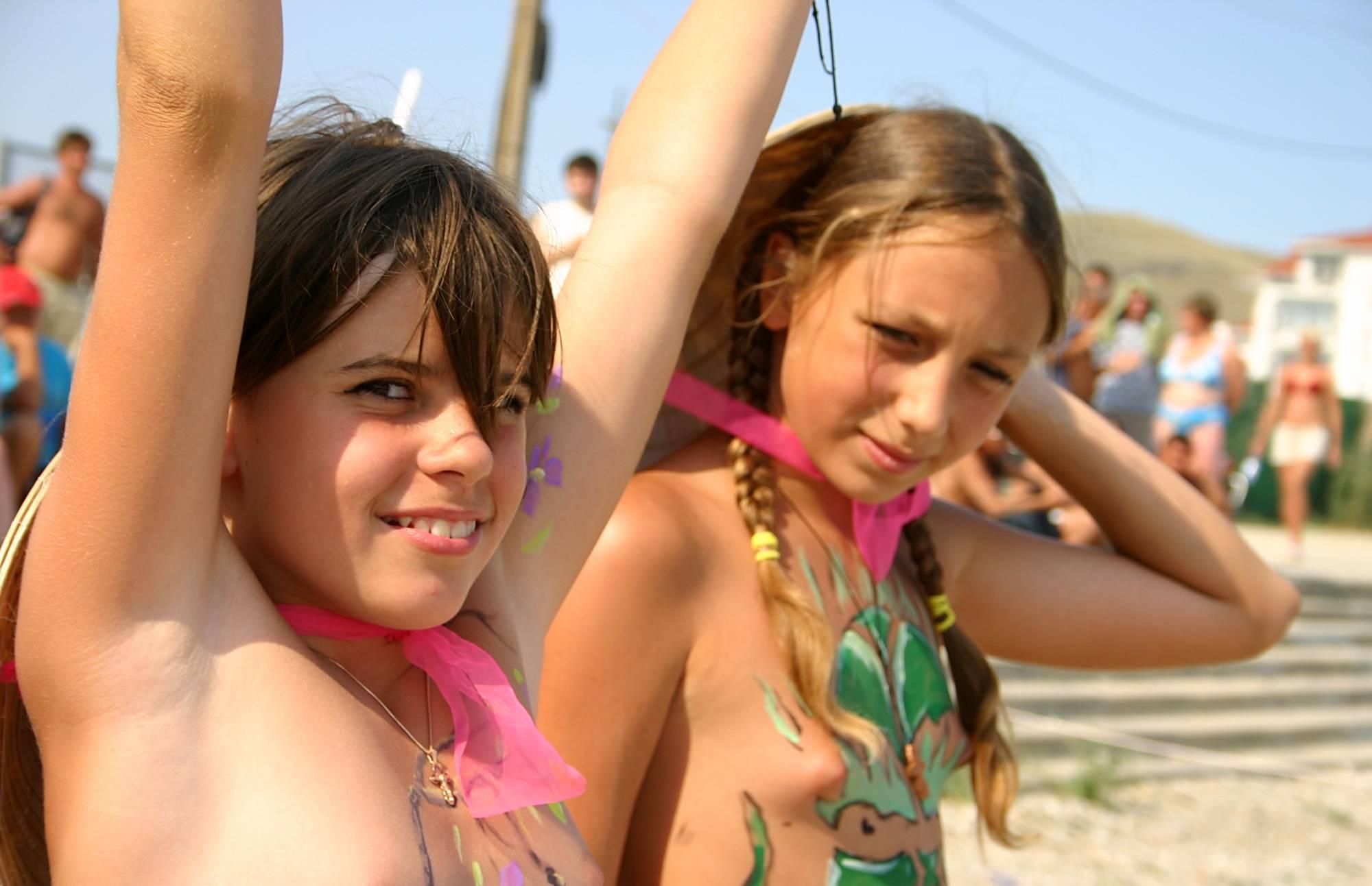 Nudist Pictures The Heat Of The Dunes - 2