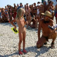 Nudist Mini Interview Walk