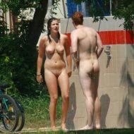 Red-Headed Nudist Couple