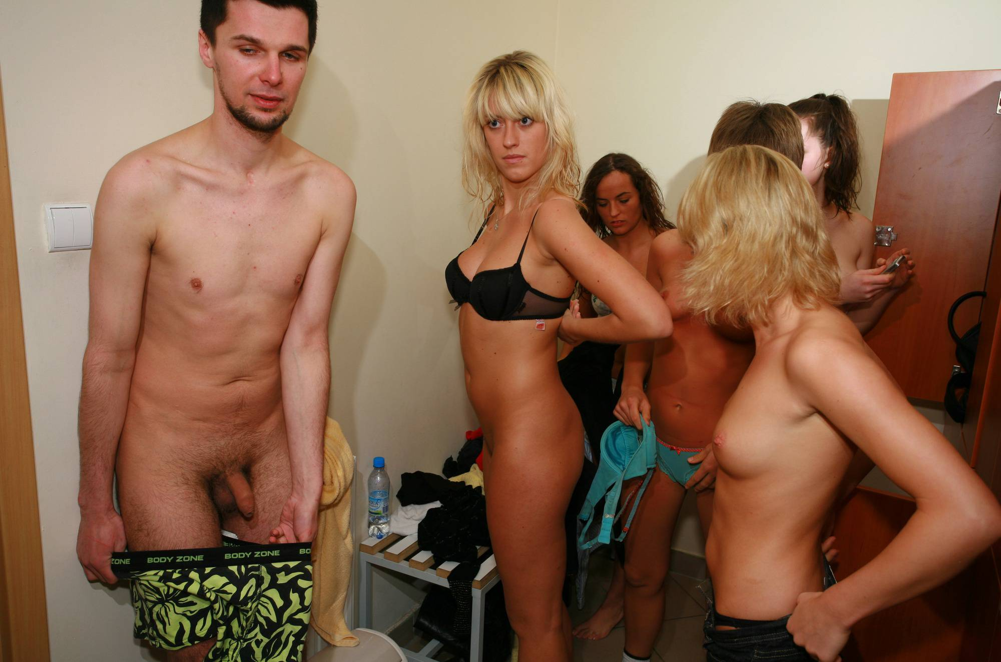 Nudist Photos Scuba Gym Preparations - 2