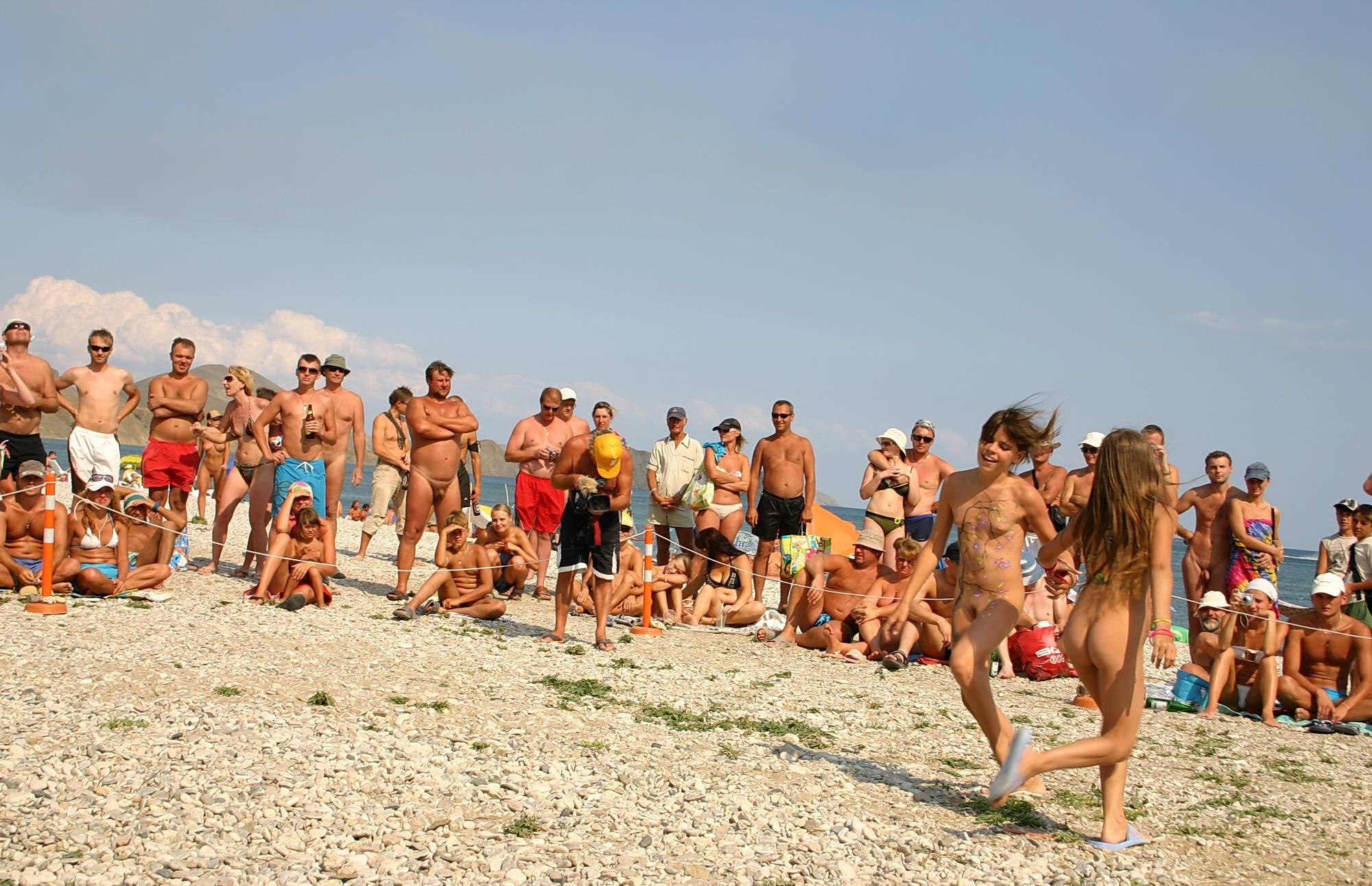 Nudist Pics The Heat Of The Dunes - 1