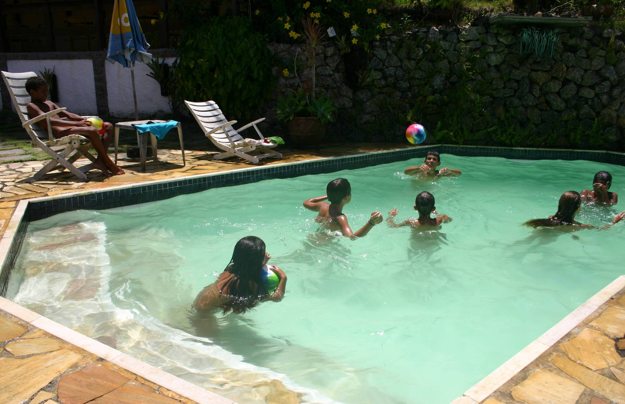 Nudist Pics Brazilian Our Outdoor Pool - 1