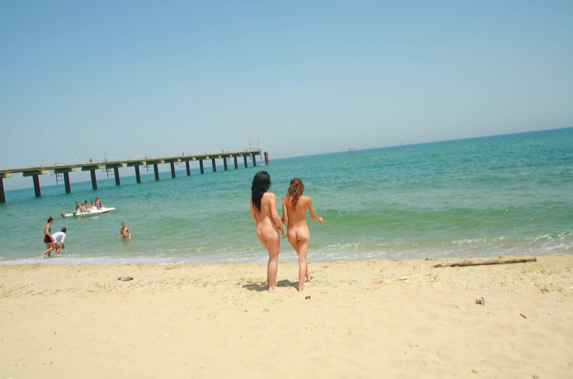 Nudist Gallery Bulgarian Beach Friends - 2