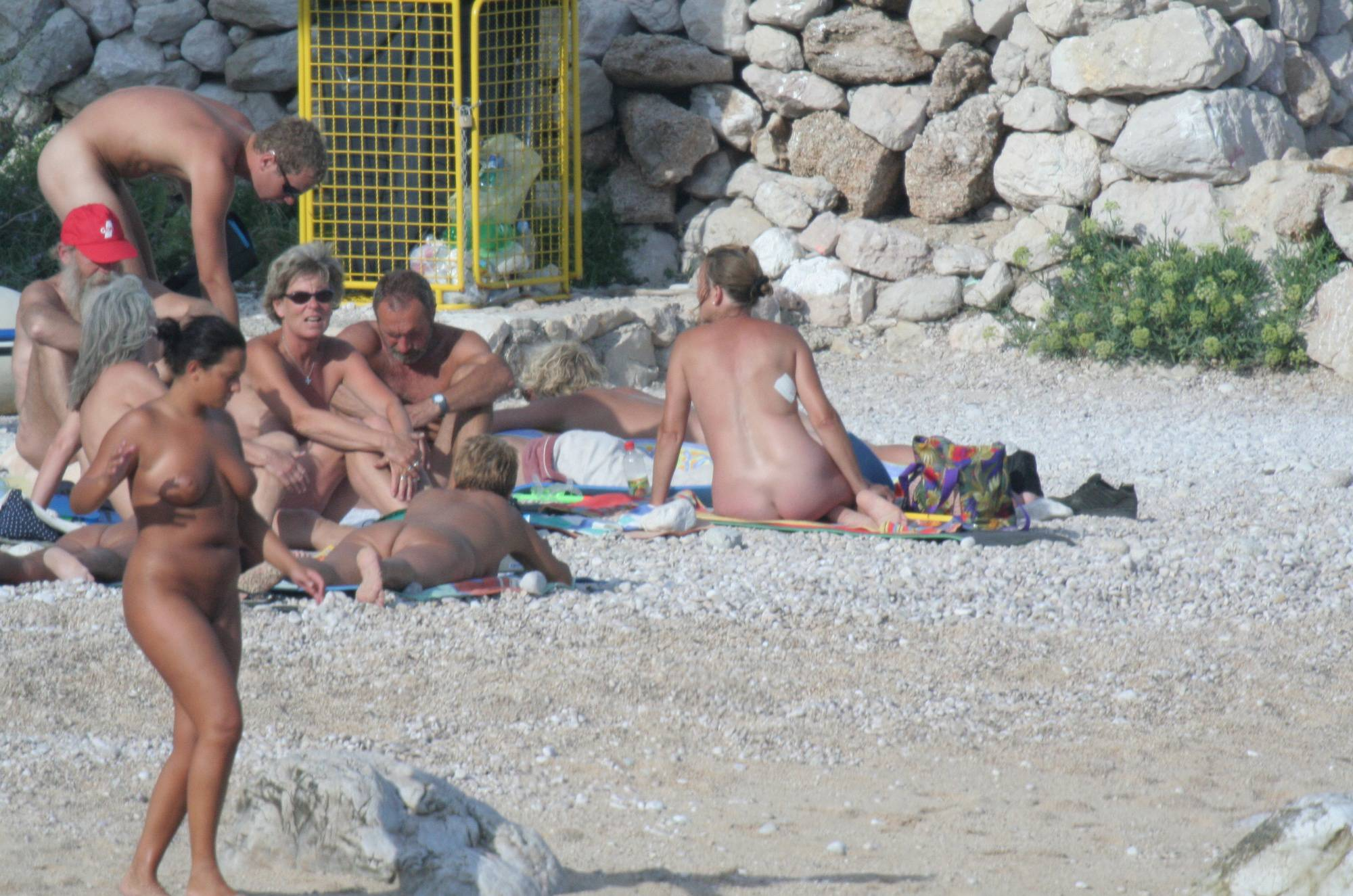 Nudist Pics Croatian Baska Beach Visit - 2