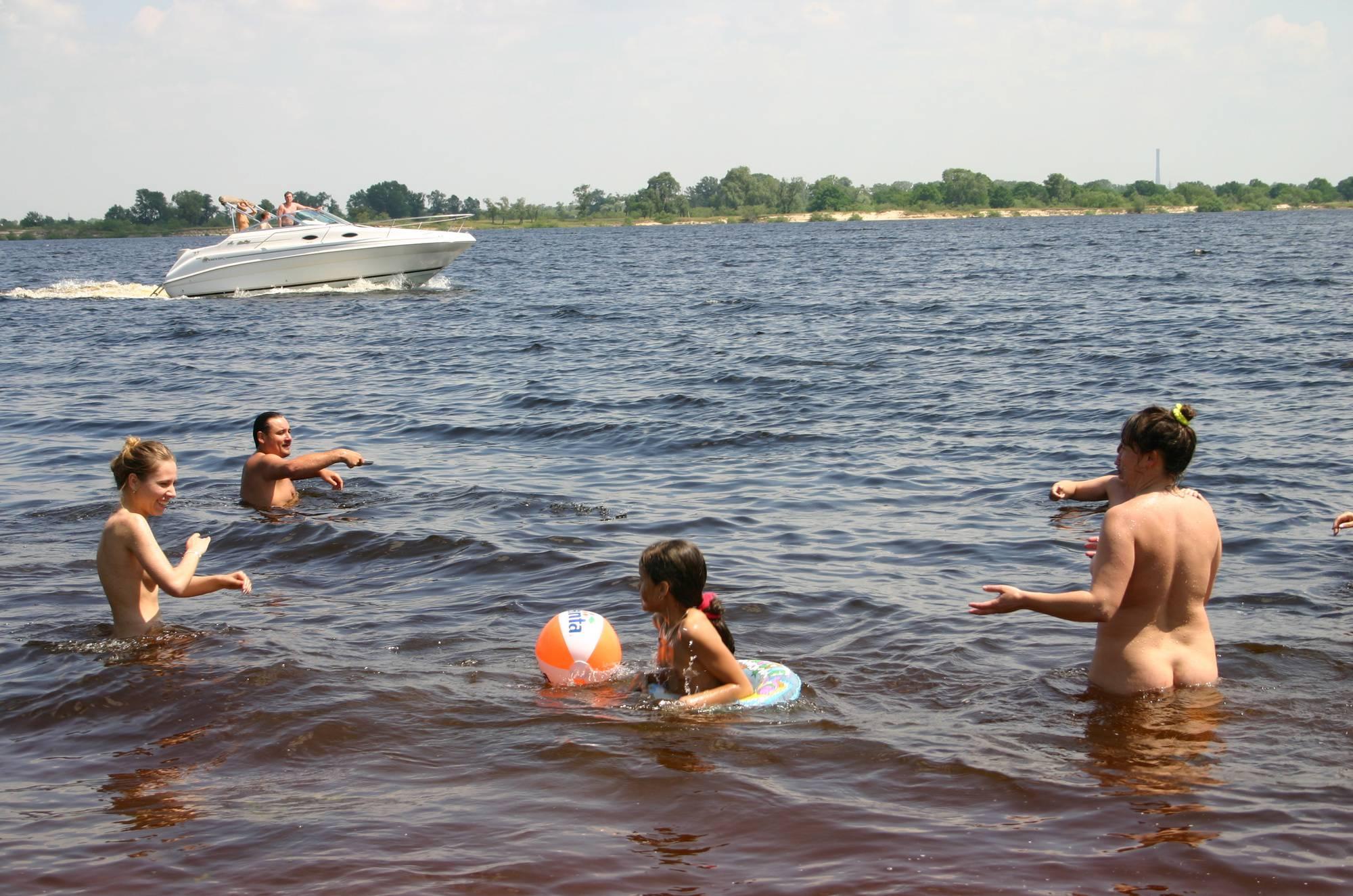 Kiev Water-Front Bathing - 2