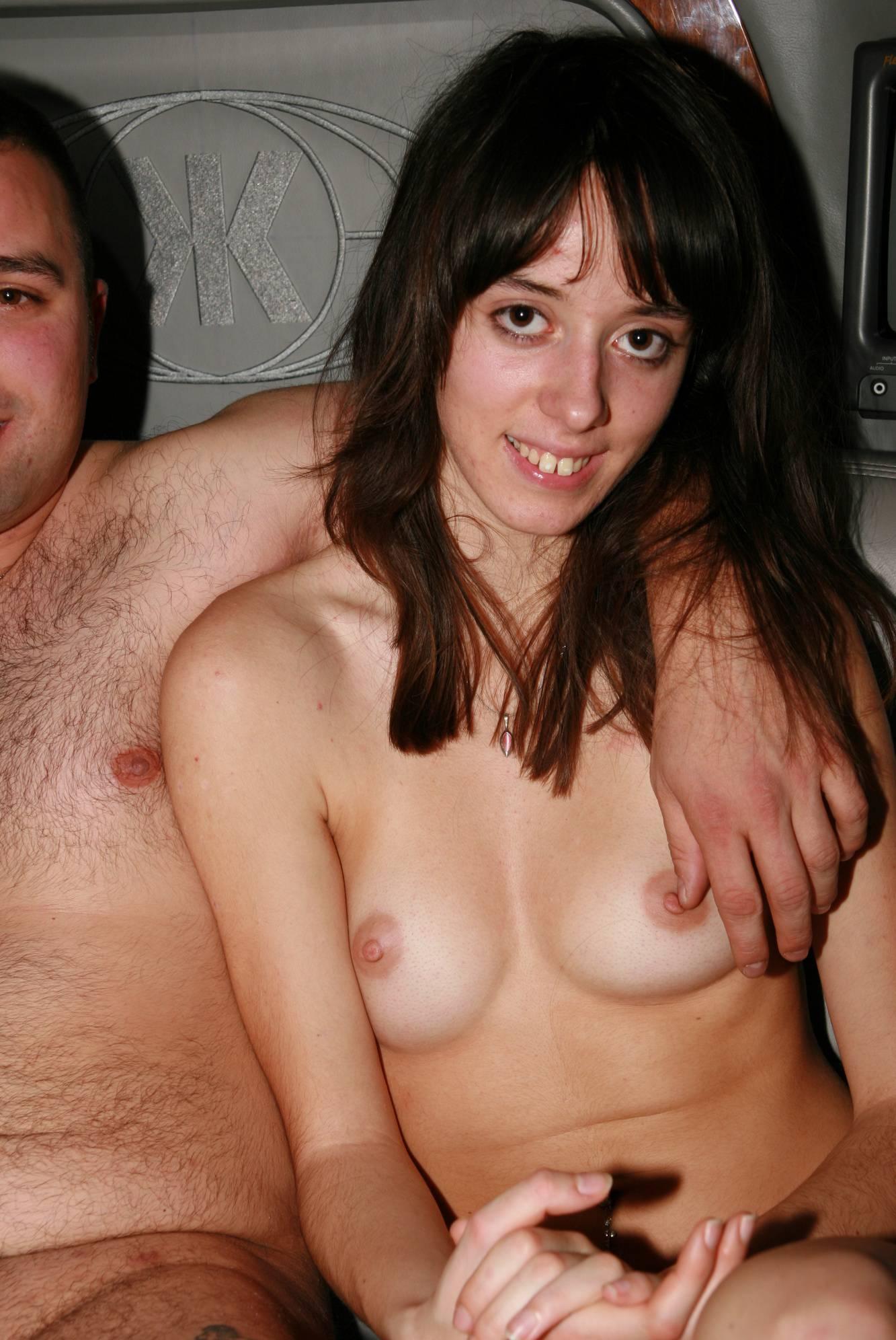 Nude Limousine Friends - 1