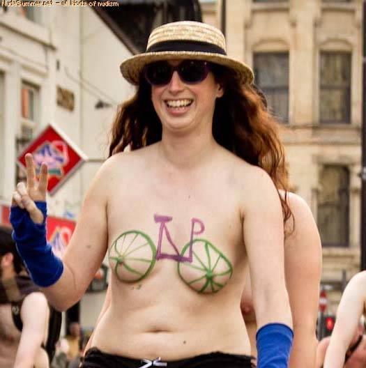 Nudist Gallery World Naked Bike Ride (WNBR) 2012 Part 1 - 2