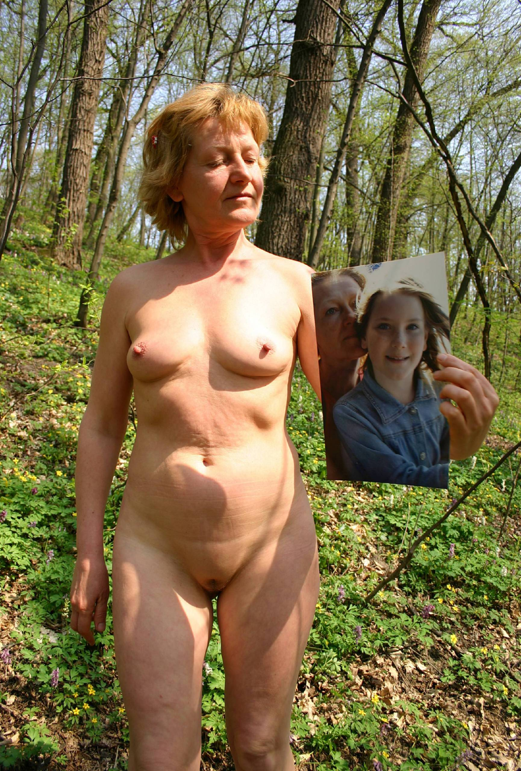 Nudist Pictures Our Sandy Green Picnic - 1