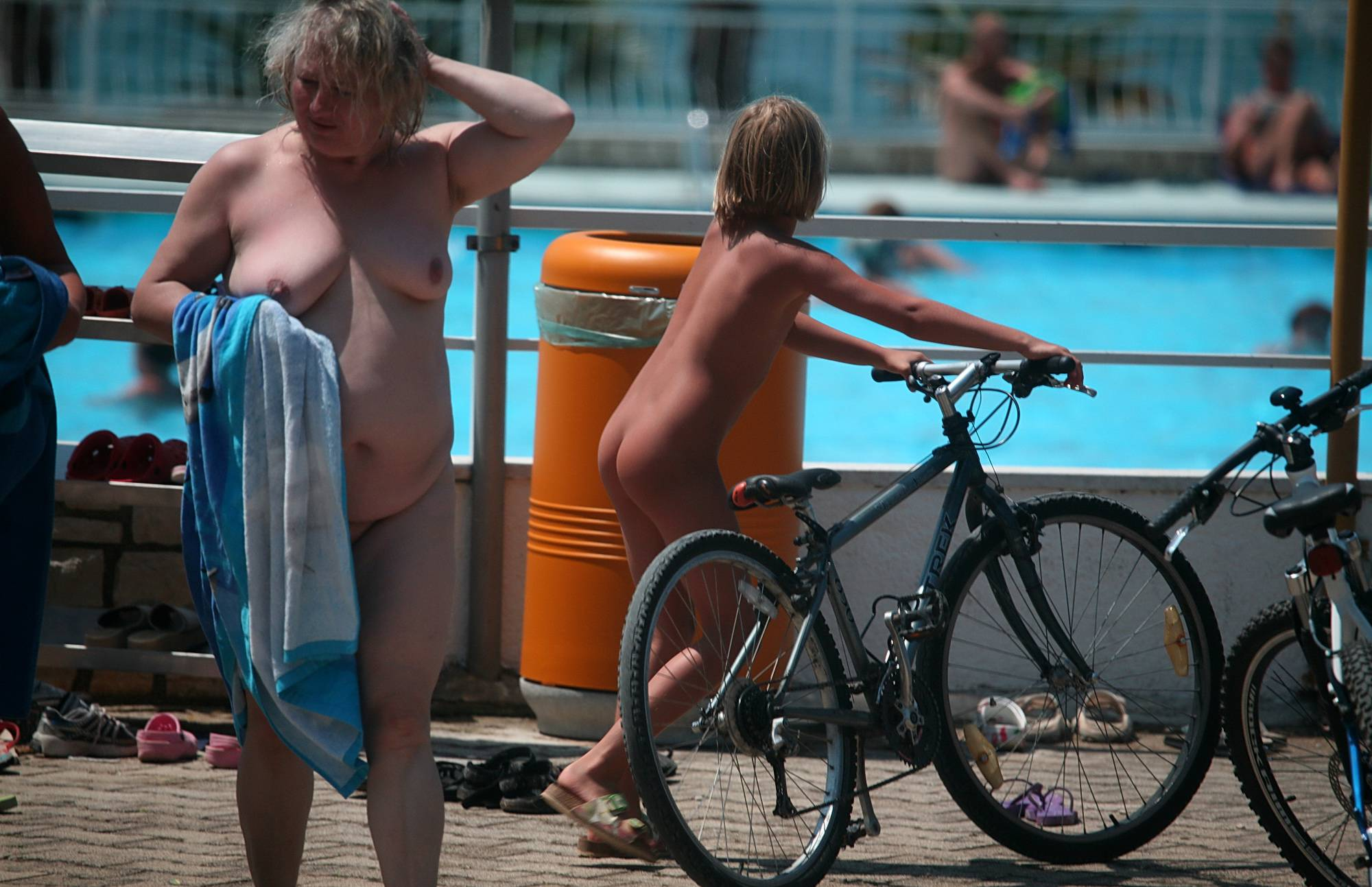 Nudist Pictures Outdoor Scooters and Bikes - 1