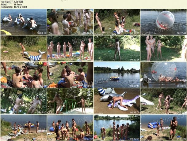 Nude and Hot Summer Day - snapshots 1