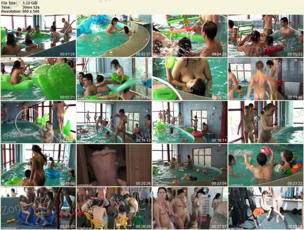 Screenshots of Indoor Swim Exercise 1