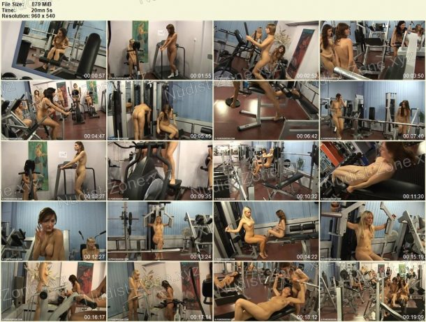 Film stills of Athletic and Relaxing 1