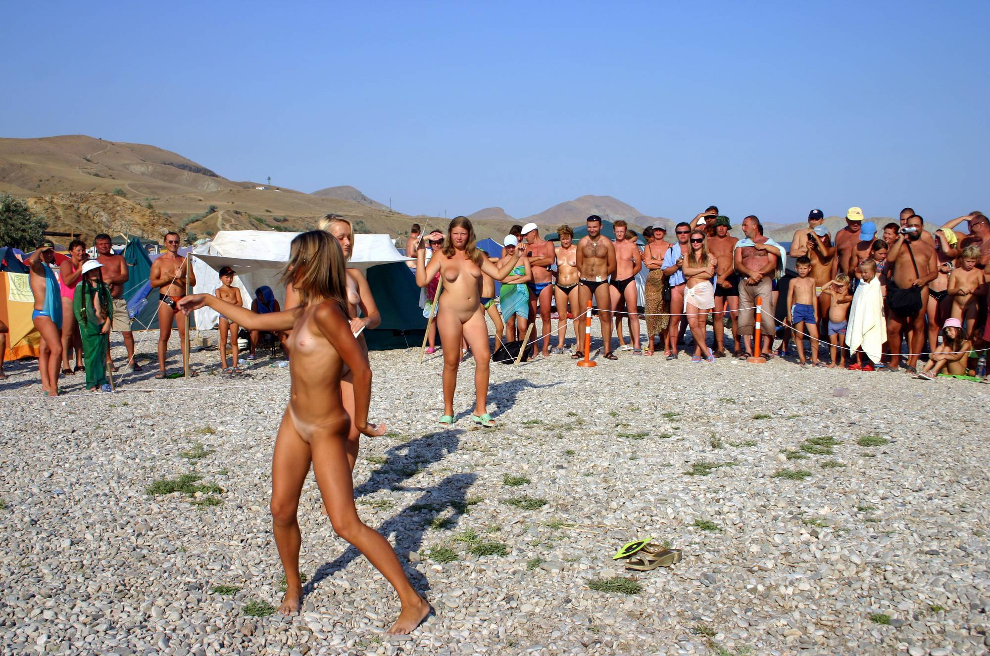 Nudist Photos Pageant Walk and a Dance - 1