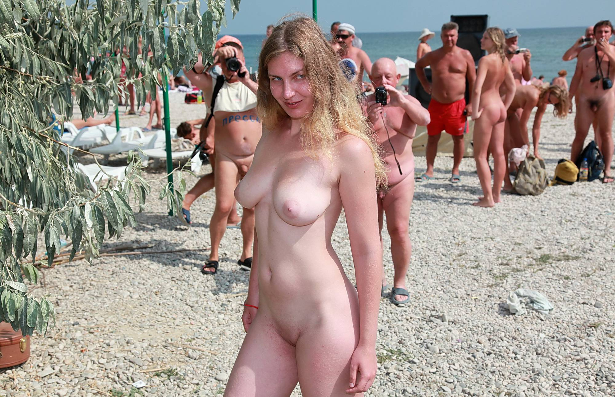 Pebble Beach Sun Bath - 1
