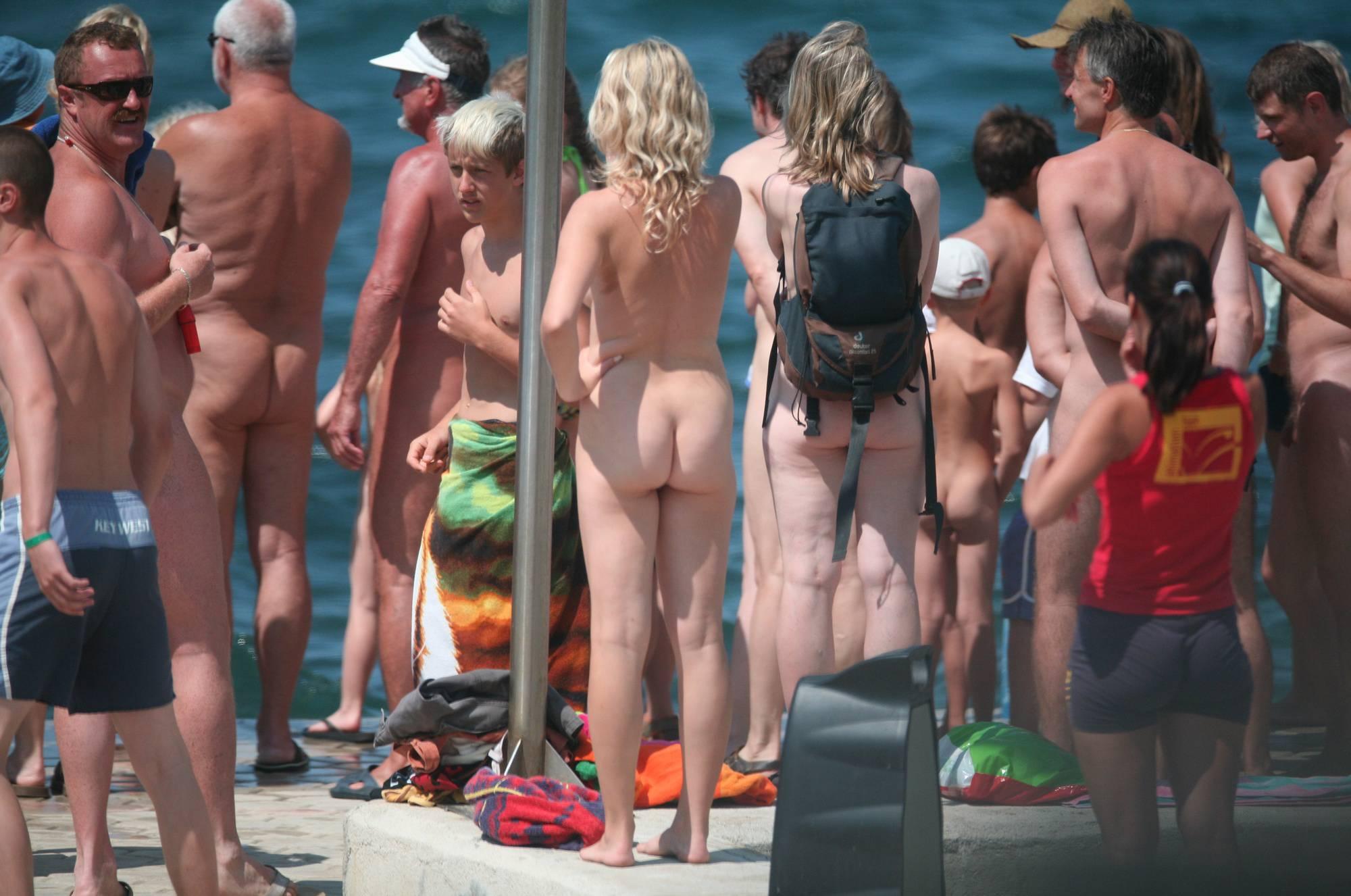 Nudist Photos Pier Sand Square Group - 1