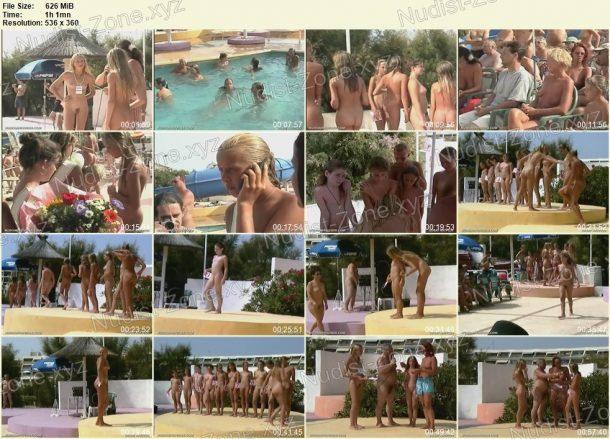Frame of Junior Nudist Contest 7