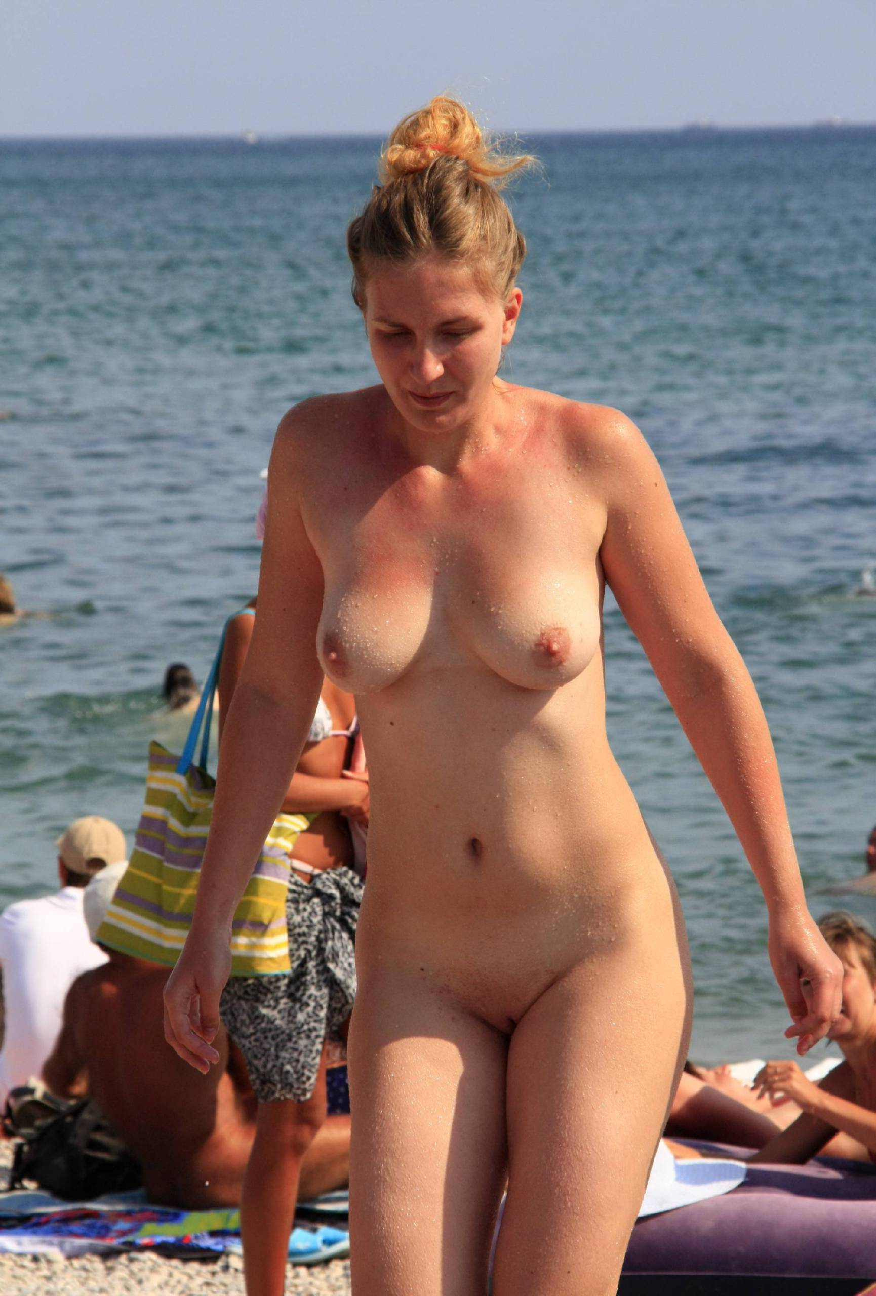 Nudist Pics Sand Beach Get Up and Go - 1