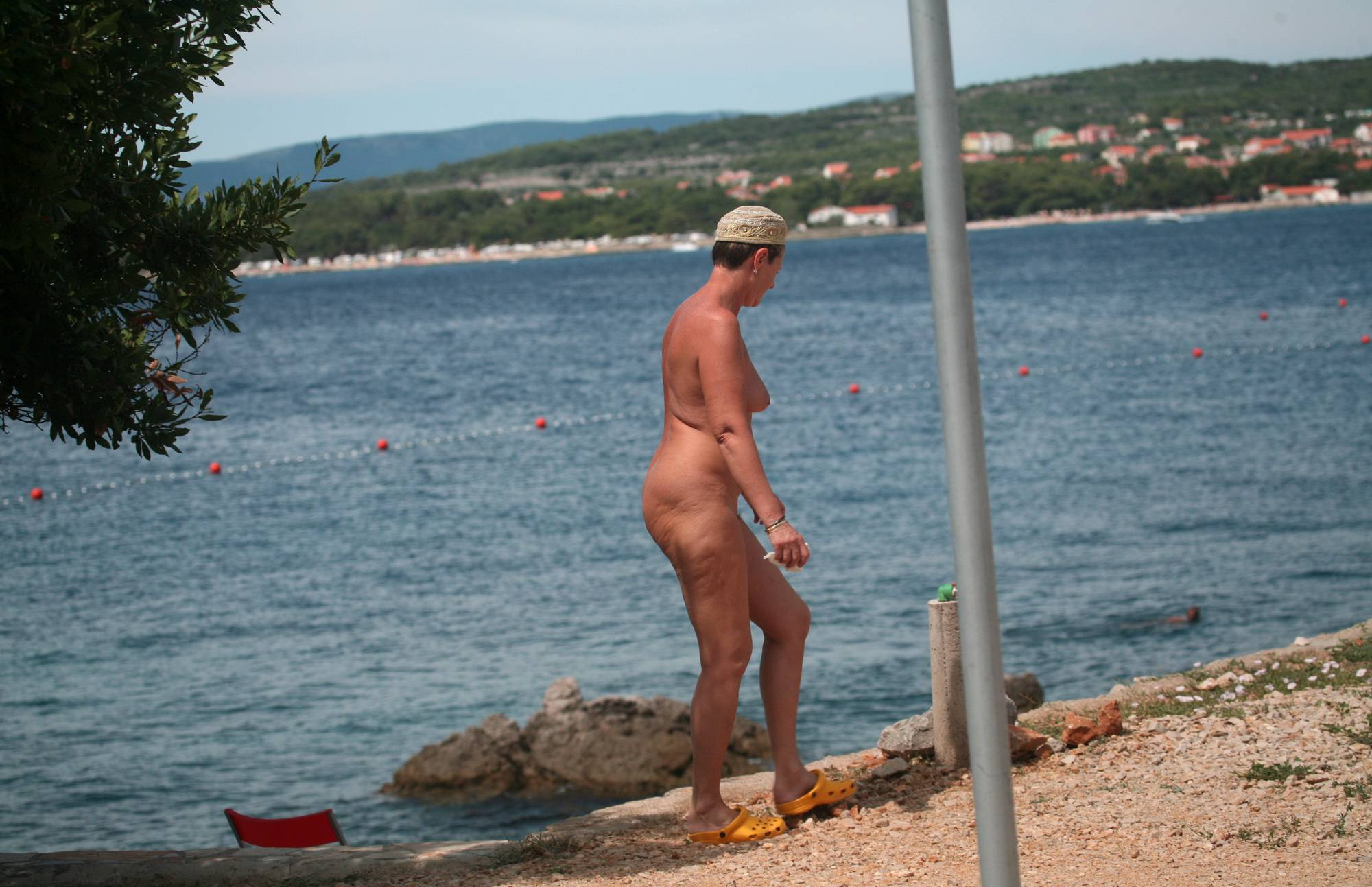 Nudist Photos Sandy Beach FKK Sidewalk - 2