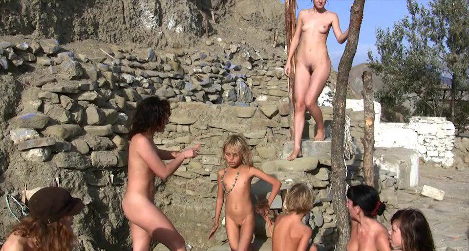 Nudist Videos Silver Outdoor Tent 2 - 2