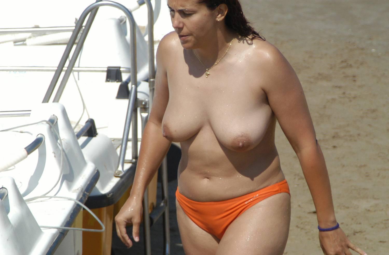 Nudist Gallery Sitges Topless Beach - 1
