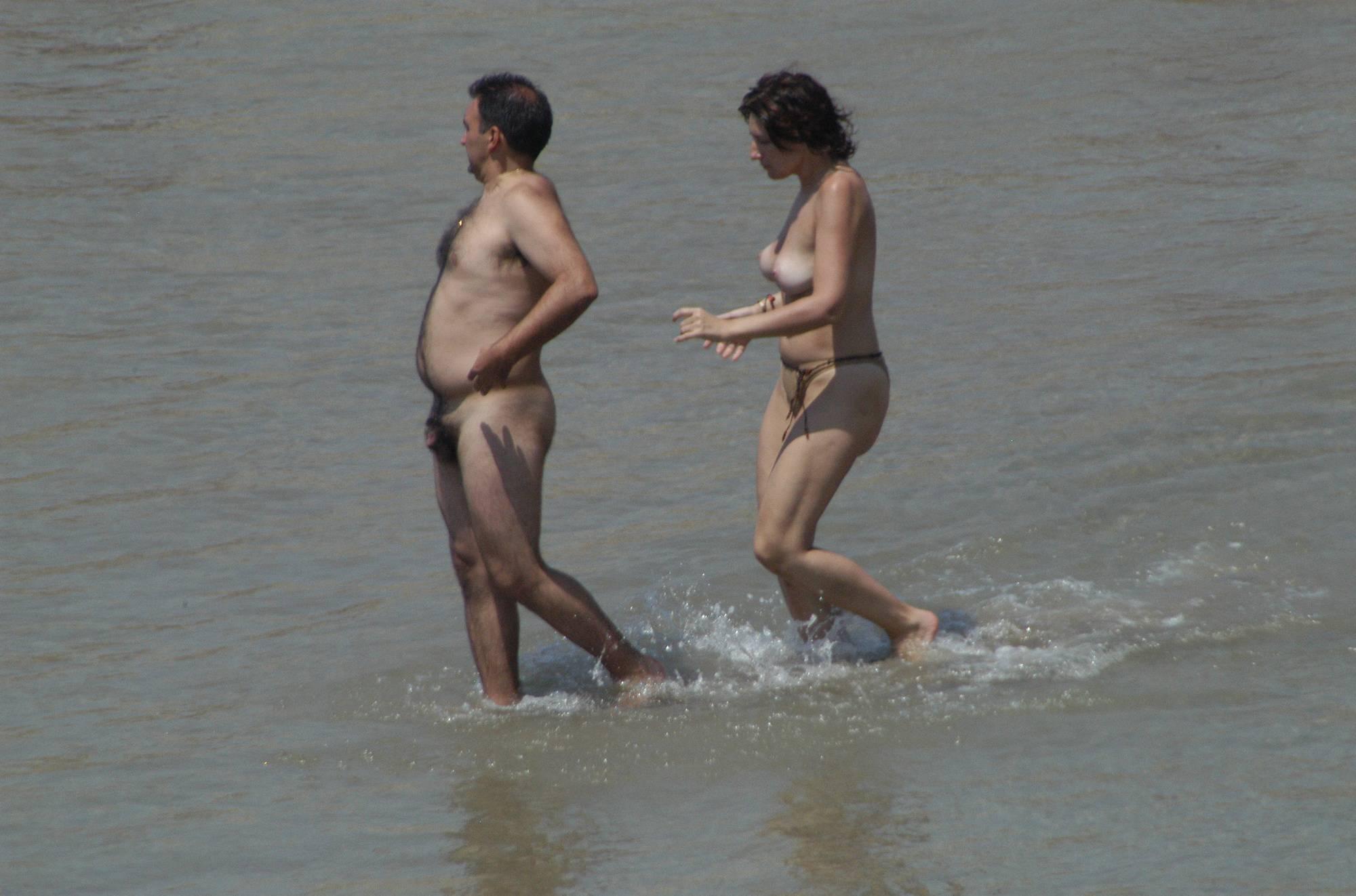 Nudist Gallery Sitges Topless Beach - 2