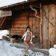 Snow Day Girl's Cabin