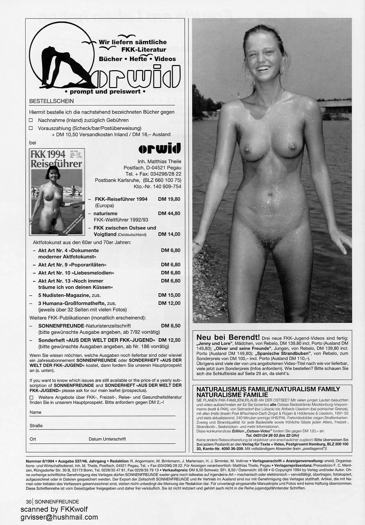 Sonnenfreunde 1994 Nr.8 - 1