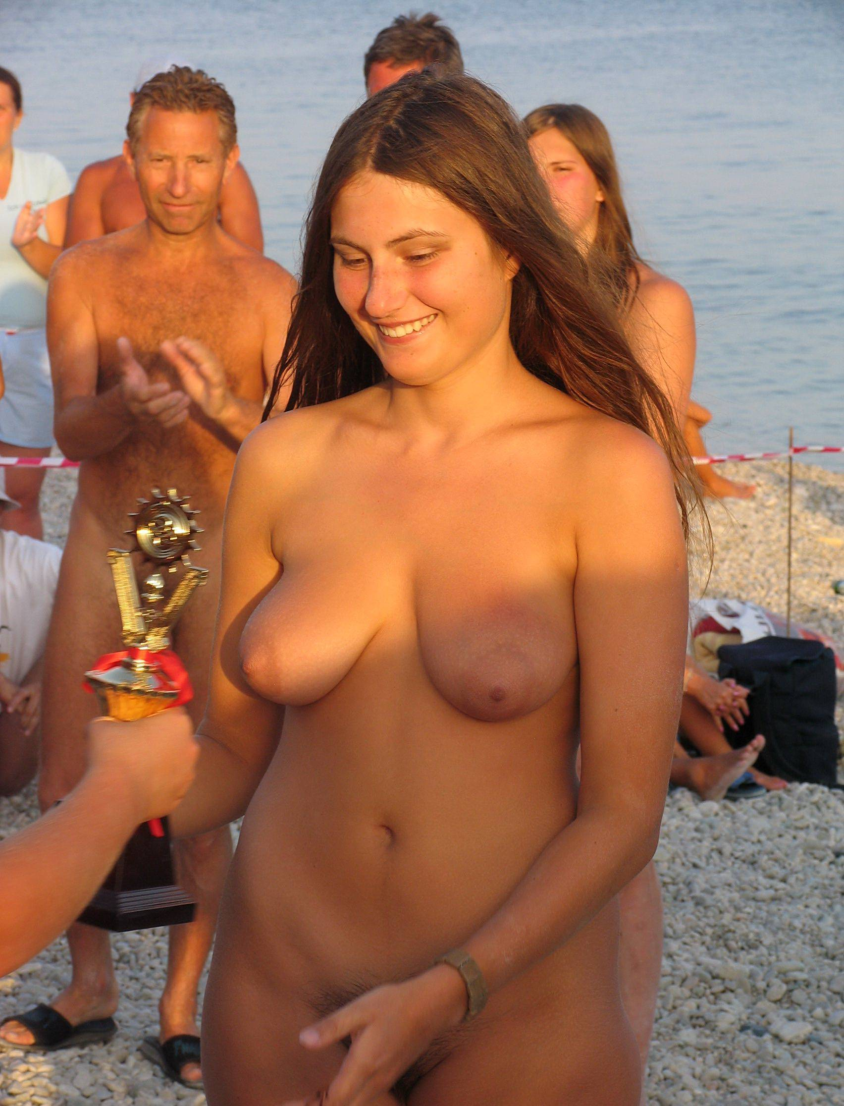 Nudist Photos Tanned Naturist Relaxation - 2