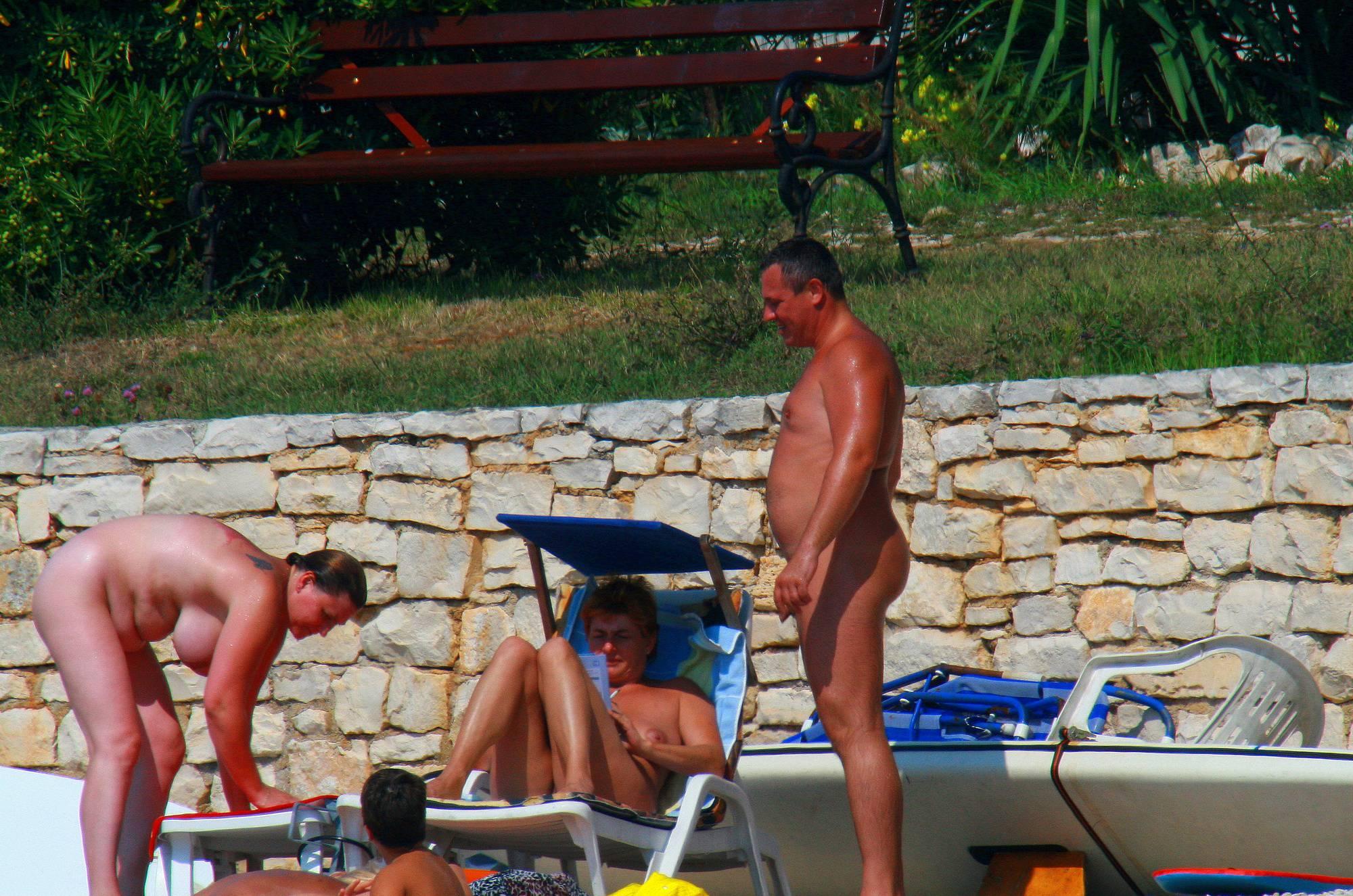 Nudist Photos Uka FKK Adult's Water Play - 1