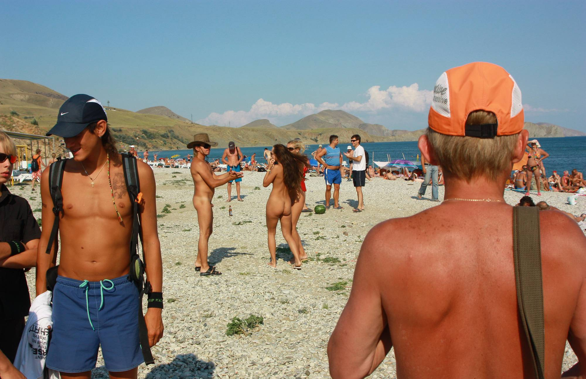 Nudist Photos Ukraine Beach Friendship - 1