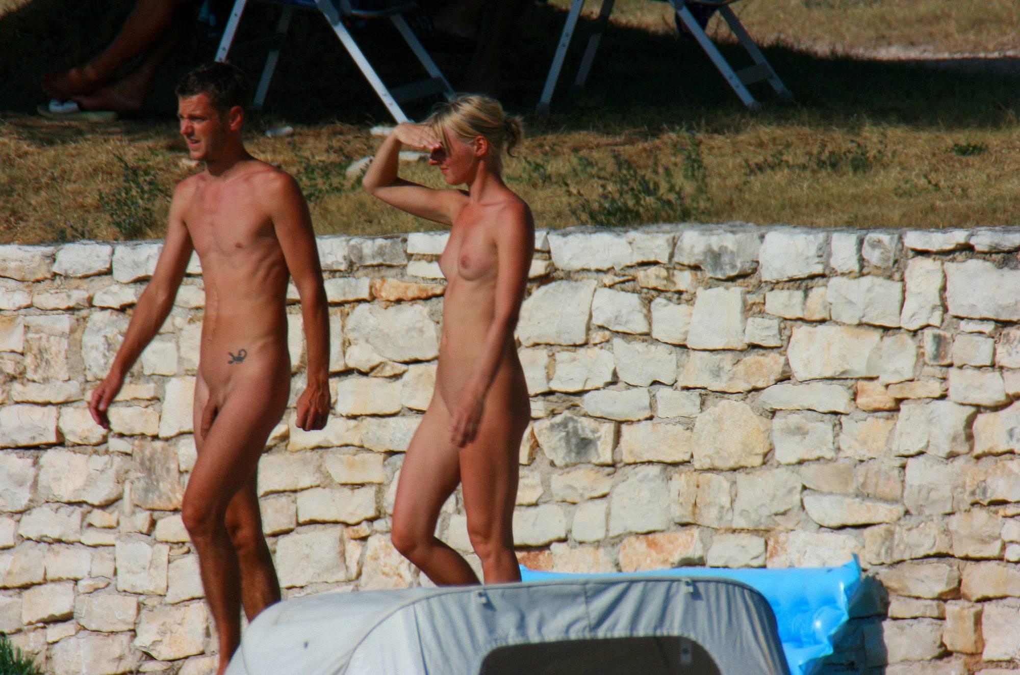 Nudist Pictures Ula FKK Blonde Water Fun - 2