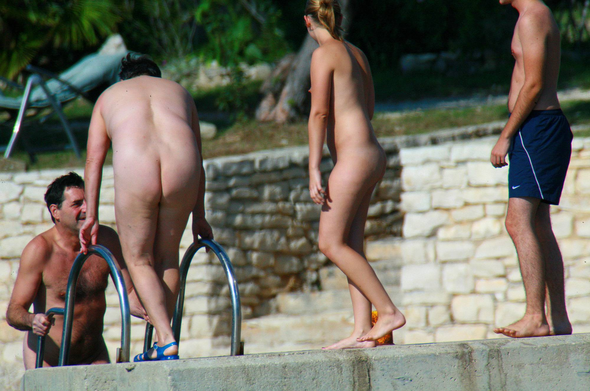 Nudist Pictures Ula FKK Couple's Park Tour - 2