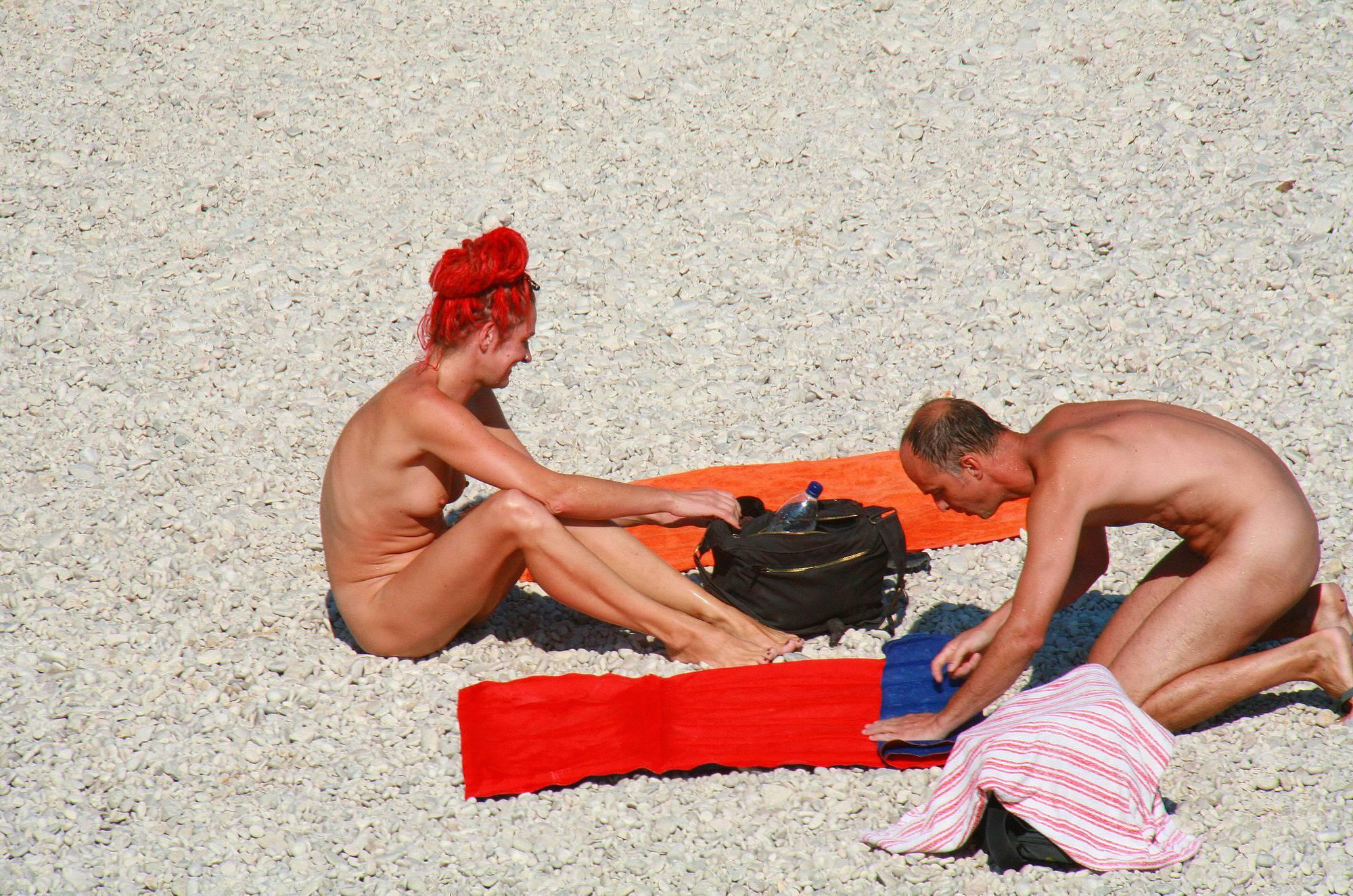 Nudist Photos Ula FKK Red Hairstyle Girl - 2