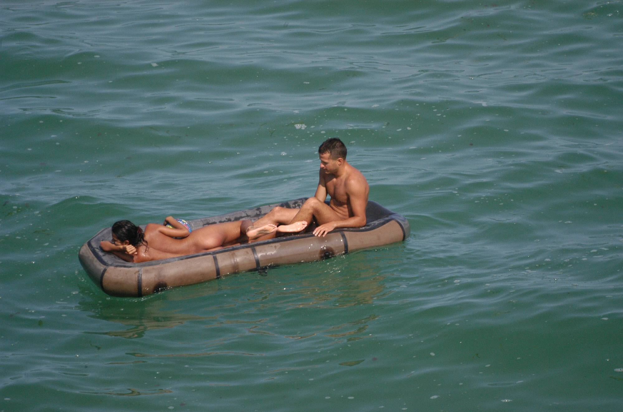 Nudist Pictures Verna Exotic Couple Water - 2