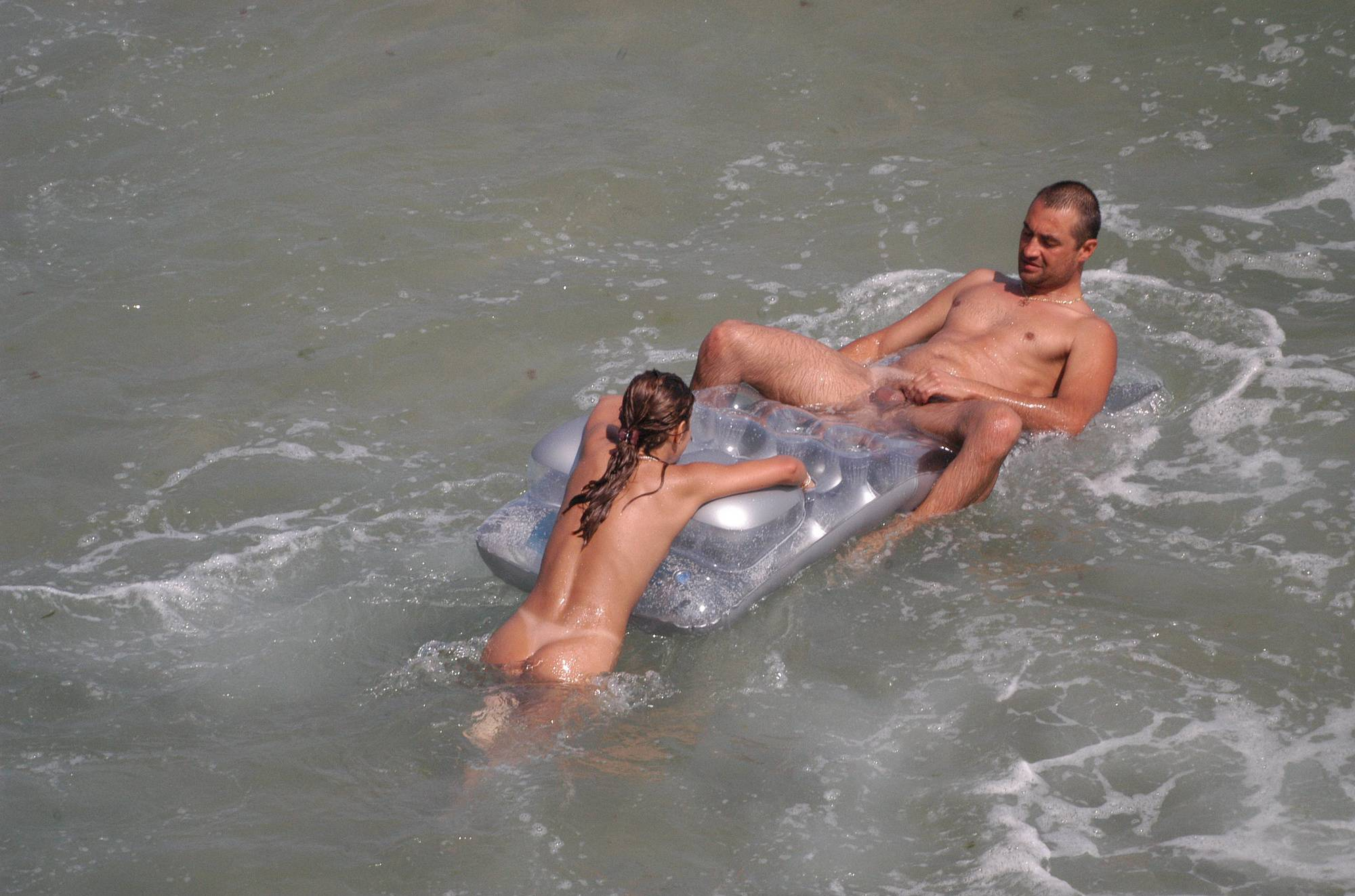Nudist Pictures Verna Floatable Fun Couple - 1