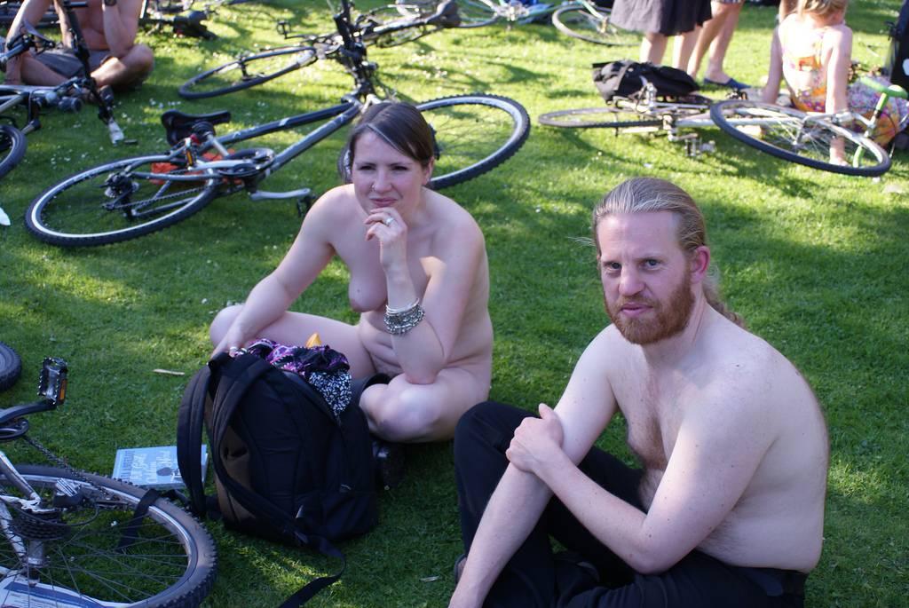 Nudist Pics World Naked Bike Ride (WNBR) 2011 - 1